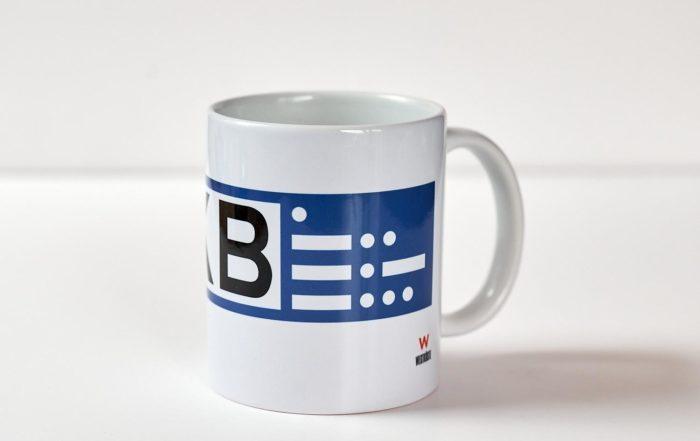 Die EDKB-Kaffee-Tasse